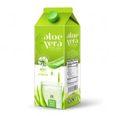 1L Paper Box Natural Aloe Vera Juice Drink