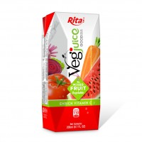 200ml Rita Paper Box Health Fruit Vegetable Juice