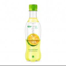 400ml Pet bottle Calamansi Flavor Sparkling Drink