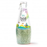 290ml Glass bottle Rita Cocktail Flavor Basil Seed