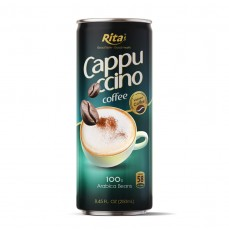 Cappuccino Coffee 250ml Can