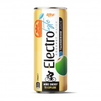Electrolyte Coconut Water With Tangerine  250ml Can