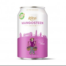 Good Quality 330ml Canned Healthy Fruit Juice Pure Mangosteen Juice
