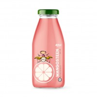 Mangosteen Juice Drink 250ml Glass Bottle