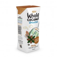 Mocha Coconut Smoothie 200ml Paper Box
