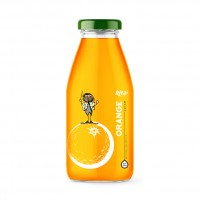 Orange Juice Drink 250ml Glass Bottle