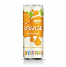 Orange 250ml Sleek Can