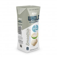 Original Coconut Smoothie 200ml Paper Box Rita Brand