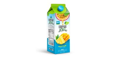 Paper Box 1L mix Fruit juice