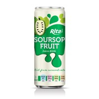 Soursop Juice Drink 250ml Sleek Can