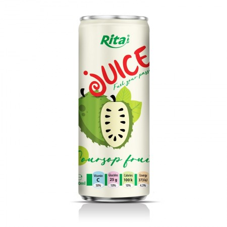 Soursop 250ml Sleek Can 1