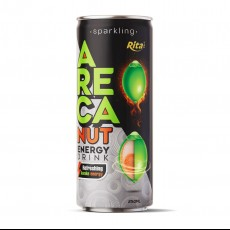 Sparkling Areca Energy drink 250ml Can