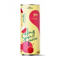 Lychee Flavor Sparkling Water 250ml Alu Can