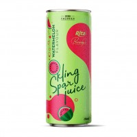 Watermelon Flavor Sparkling Water 250ml Alu Can
