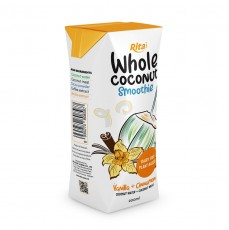 Vanilla Coconut Smoothie 200ml Paper Box 1