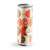 Grapefruit Flavor Sparkling Water 250ml Alu Can